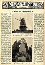 Schwere Orkanschäden in Marienburg Graudenz Strasburg * Bild-Report von 1903