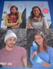 Hayfield DK Adult Accessories Knitting Pattern 8039