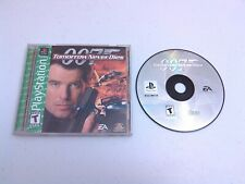 007: TOMORROW NEVER DIES Playstation game COMPLETE! Tested & Works