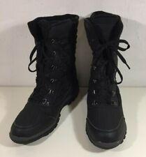 Botas para hombre Tentex caminar NEGRO MUCKER NIEVE Térmico Esquí De Senderismo Zapatos de UK10/43
