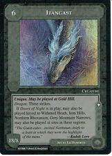MIDDLE EARTH THE DRAGONS RARE CARD ITANGAST grade 9/10
