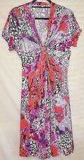 non è vero empire waisted dress gathered front beach party wedding size 2 or 10