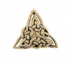 Irish Bronze Celtic Trinity Brooch