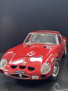 1:18 Bburago FERRARI 250 GTO 1963 cod. 3011 RED MODEL CAR LHD RARE!