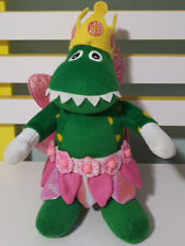 THE WIGGLES FAIRY DOROTHY DINOSAUR PLUSH TOY! SOFT TOY ABOUT 24CM TALL KIDS TOY!