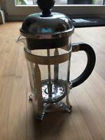 Bodum CHAMBORD Kaffeebereiter French Press Kaffeedrücker 0,35 l 3Tassen glänzend