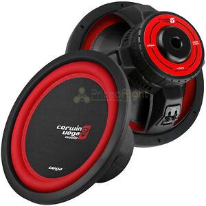 "2 Pack Cerwin Vega 15"" Subwoofers Dual 2 Ohm 1100W Max Car Audio Vega V152D"