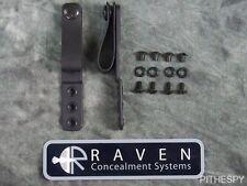 "Raven IWB 1.25-1.75"" Tuckable Soft Belt Loops Set Pair for Copia Phantom Holster"