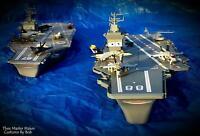 """DISNEY PLANES CUSTOM AIRCRAFT CARRIER (USS JOHN A. LASSETER) 31"""" LONG - NEW"""