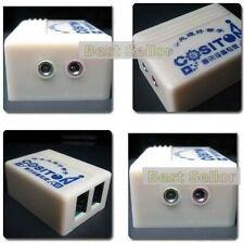 3.5mm Jack/RJ9 adapter Converter For Fixed Telephone Line Phone Headset Earphone