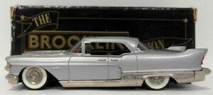 Brooklin 1/43 Scale BRK27 001  - 1957 Cadillac Eldorado Brougham Silver