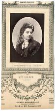 Lemercier, Paris, actrice, Comédie-Française, Mlle Bianca Vintage Print, vintage