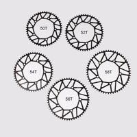 130bcd CNC Hollow Kettenblatt faltendes / Rennrad schmales breites Kettenblatt