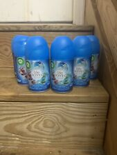Air Wick Freshmatic Ultra Life Scents Spray Refill-TURQUOISE OASIS Lot Of 6 Cane