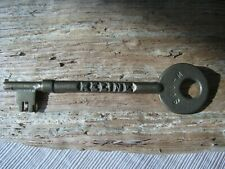 Antique Brass Keline Obsolete Railroad Train Caboose Collector Key Soo