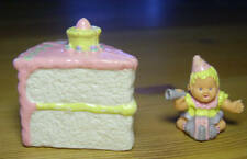 Polly Pocket Mini ♥ Mimi & the Goo Goos ♥ Süßes Baby in einer Torte ♥