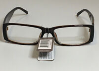 NYS COLLECTION GLASSES STYLE 1716 Brown Rectangle Clear Lens