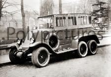 Automobile voiture ancienne an.1920 Renault type à identifier - repro photo - 20