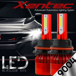 488W 9004 HB1 CREE LED Headlight Kit Bulbs High Low Beam for Dodge Ram Pontiac