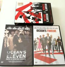 OCEAN S ELEVEN + OCEAN S TWELVE BOX SET ED.LIMITATA 2 DVD FILM DVD ITALIANO