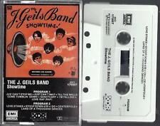 THE J. GEILS BAND / SHOWTIME - Cassette (1982)