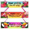 Large Tropical Wooden Wall Hanging Plaque Cocktail Bar Bedroom Home Kitchen Sign