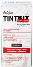Godefroy Professional Tint Kit Natural Black 20 Count