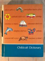 Childcraft Dictionary 1989 - Kids School Book Learning