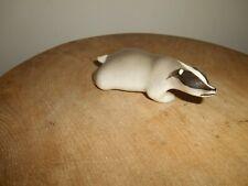 Russian Porcelain Animal Figurine....BADGER