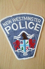 Patches: NEW WESTMINSTER CANADA POLICE DEPT PATCH (NEW* apx.11x11 cm)