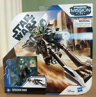 """BRAND NEW 2020 Star Wars Mission Fleet 2.5"""" THE MANDALORIAN Child SPEEDER BIKE"""