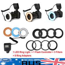 48 LED DSLR Camera Photo Macro Ring Flash Light for Nikon Canon Pentax Olympus #