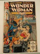 DC Comic Wonder Woman Deathstroke Amazon Assasin Operation Cheetah Mar 1970 #386