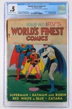 World's Finest Comics #3 - CGC 0.5 PR - DC 1941 - 1st App/Origin Scarecrow!