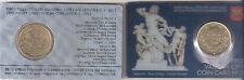 B) VATICANO COIN CARD 50 CENTESIMI DEL 2012 FDC