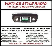 1964 1965 1966 Ford Mustang AM FM Stereo Radio , USB , Aux, 240 Watts