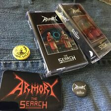 ARMORY - The Search TAPE (LIM.100*SWE SPEED METAL*AGENT STEEL*HOLY TERROR)
