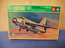 Tamiya 1004 - 1/100 BAC Lightning F-Mk6 Saudi & RAF decals