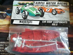 Airfix motor racing maserati slot car mrrc 5120 body