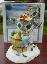 Lenox A STROLL WITH FRIENDS Snowman Figurine in Original Box