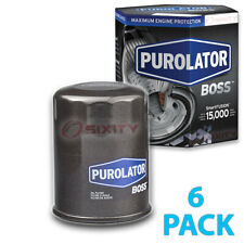 6 Pack Purolator BOSS PBL14610 Engine Oil Filter - 6x Long Life qp
