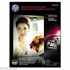 "HP Premium Plus Glossy Photo Paper 8.5"" x 11"" 50 Sheets"