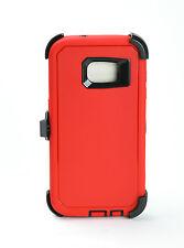 Rugged Samsung Galaxy S7/S7 Edge Hard Case (Belt Clip Fits Otterbox Defender)