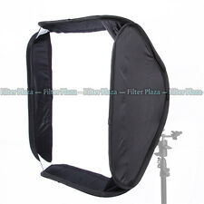 "PRO Portable 24""/60x60cm Softbox For SpeedLight Flash Fit Bowens Elinchrom Mount"