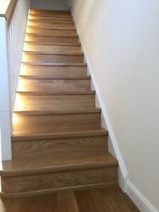 stairs cladding systems (oak,ash,beech wood)