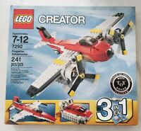 Lego Propeller Adventures 7292 RETIRED New SEALED Creator 3 in 1 Plane