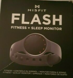 Misfit Wearables Flash - Fitness and Sleep Monitor Black Open box