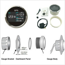 85mm GPS Speedometer Speed Warning System Waterproof for Motorcycle Boat Truck