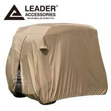 4 Passenger Golf Cart Cover Fits EZ GO, Club Car, Yamaha, Storage W Zipper