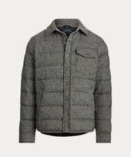 Men's Polo Ralph Lauren Herringbone Wool Down Jacket NWT